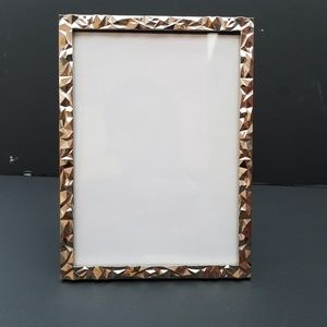 Other - Silver Textured Picture Frame